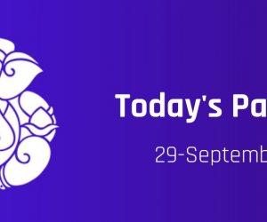 Kalashtami September 29, Wednesday; Today Panchang to know muhurat, tithi, rahu and choghadiya timings