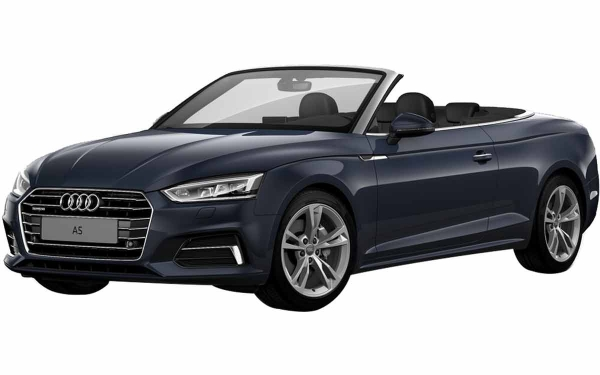 Audi A5 Cabriolet Exterior Front Side View