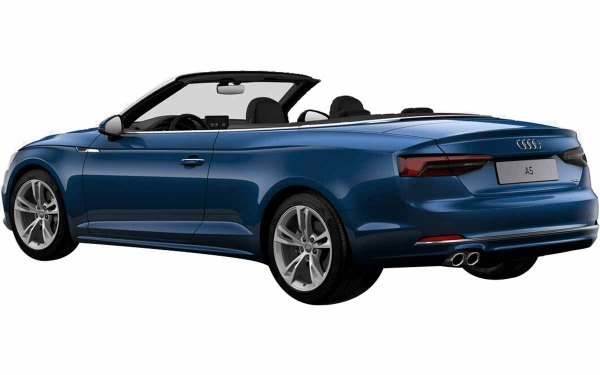 Audi A5 Cabriolet Exterior Rear Side View