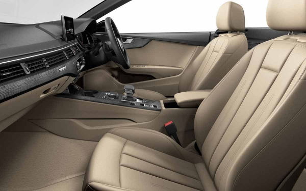 Audi A5 Cabriolet Interior Front Side View