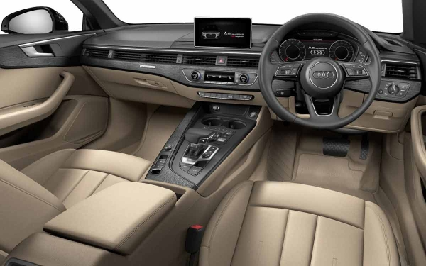 Audi A5 Cabriolet Interior Front View
