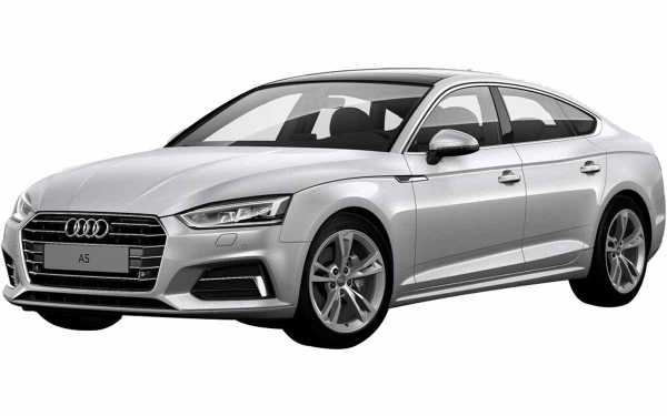 Audi A5 Exterior Front Side View