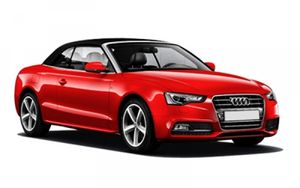 Audi A5 front view