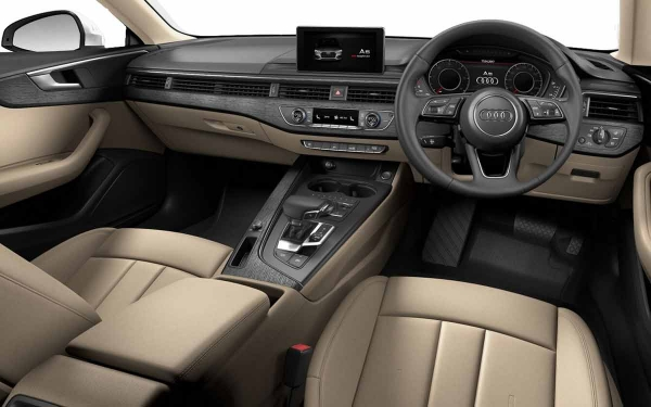 Audi A5 Interior Front View