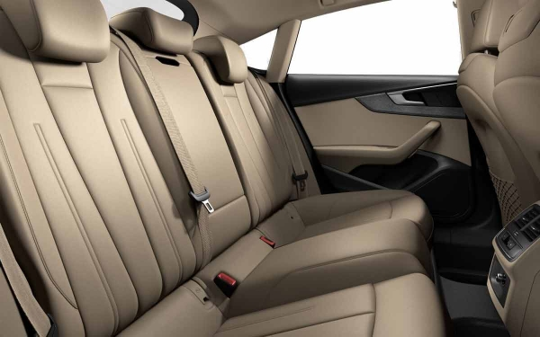 Audi A5 Interior Rear Side View