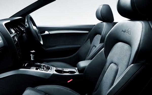 Audi A5 interior side view