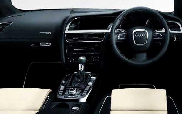 Audi A5 interior view