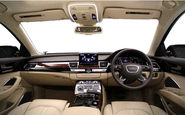 audi a8 l specifications features price performance. Black Bedroom Furniture Sets. Home Design Ideas