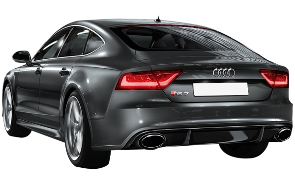 Audi RS 7 Exterior Rear Side View