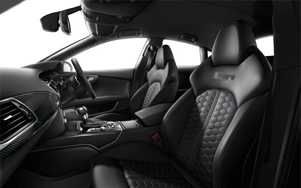 Audi RS 7 Interior Front Side View