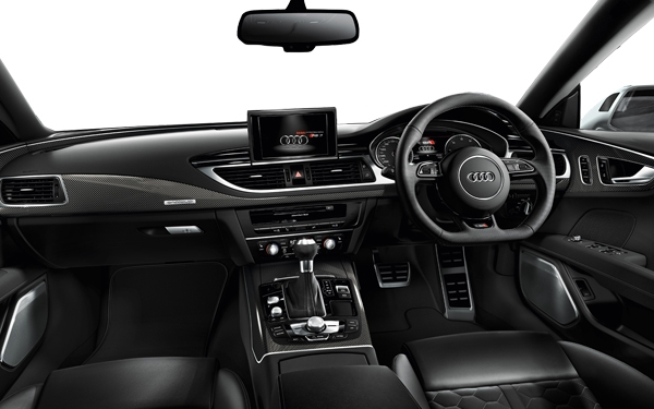 Audi RS 7 Interior Front View