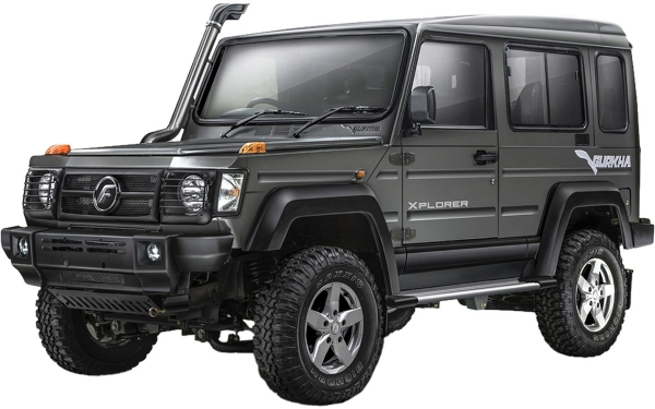 Force Gurkha Xplorer Exterior Front Side View