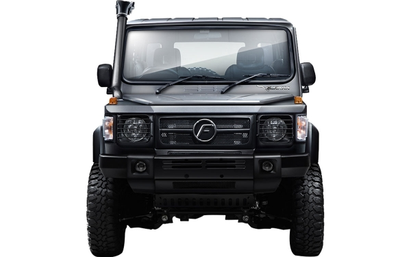 Force Gurkha Xplorer Exterior Front View
