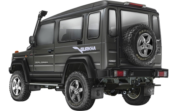 Force Gurkha Xplorer Exterior Rear Side View