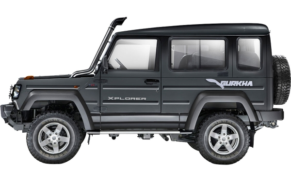 Force Gurkha Xplorer Exterior Side View