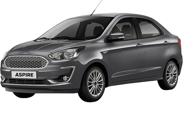 Ford Aspire Exterior Front Side View (Smoke Grey)
