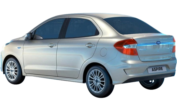 Ford Aspire Exterior Rear Side View
