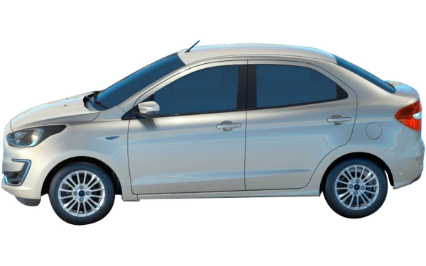 Ford Aspire Exterior Side View