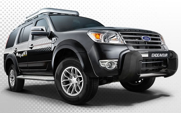1 5 Photos Ford Endeavour Left Side View