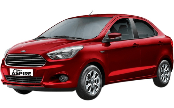 Ford Figo Aspire Front Side View