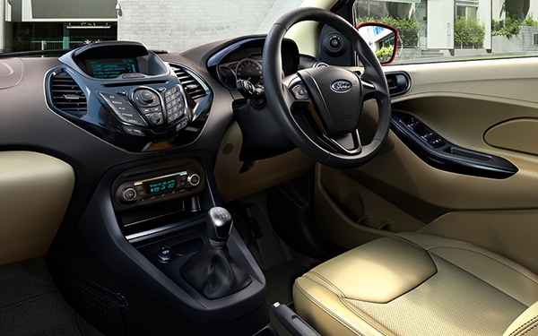 Ford Figo Aspire Interior Front side  View