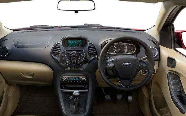 Ford Figo Aspire Interior Front  View