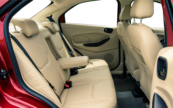 Ford Figo Aspire Interior Rear Side  View