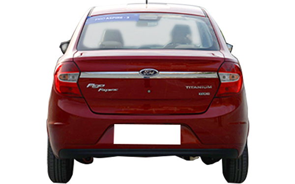 Ford Figo Aspire Rear View