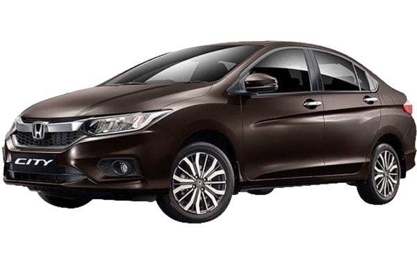 Honda City Exterior Front Side View (Golden Brown)