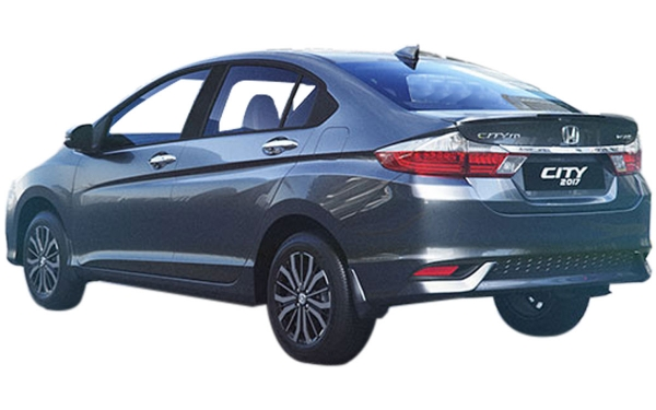 Honda City Exterior Rear Side View