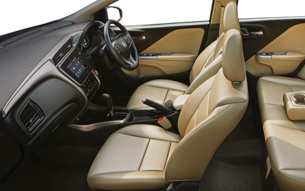 Honda City Interior Front Side View