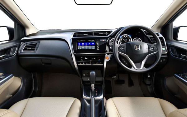 Honda City Interior Front  View