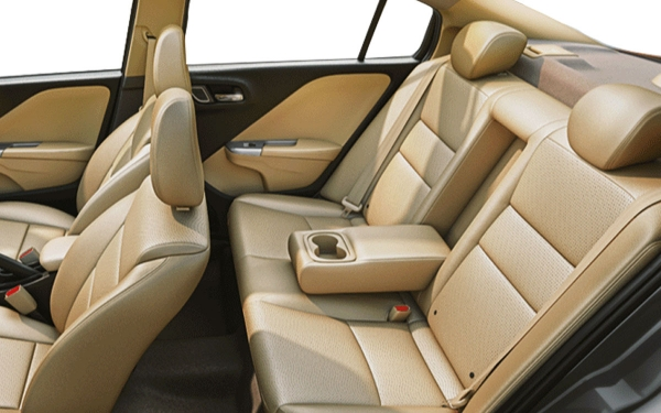 Honda City Interior Rear Side View