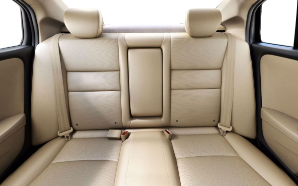 Honda City Interior Rear View
