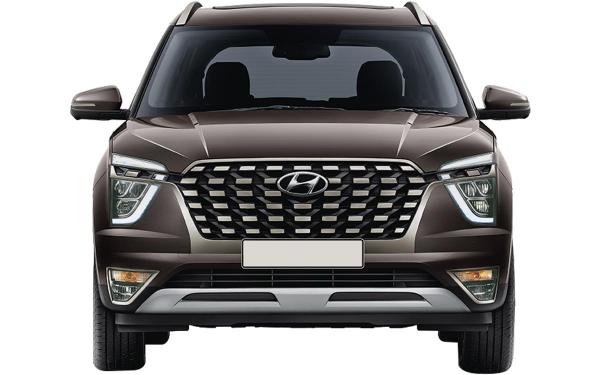 Hyundai Alcazar Exterior Front View