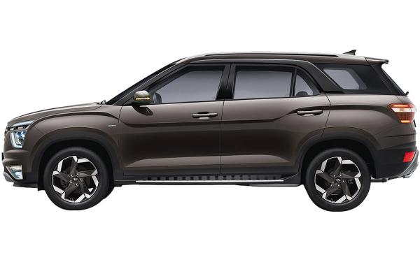Hyundai Alcazar Exterior Side View