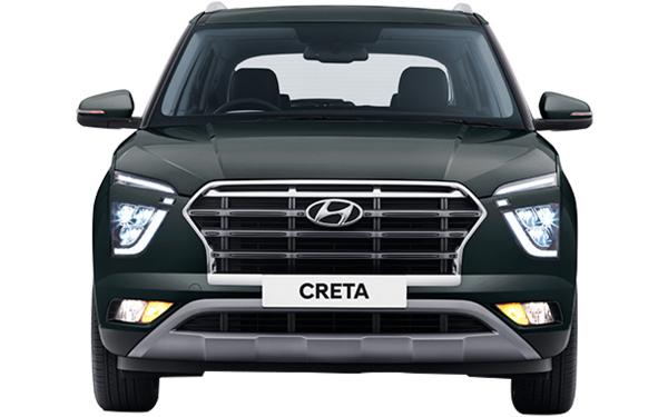 Hyundai Creta Exterior Front View