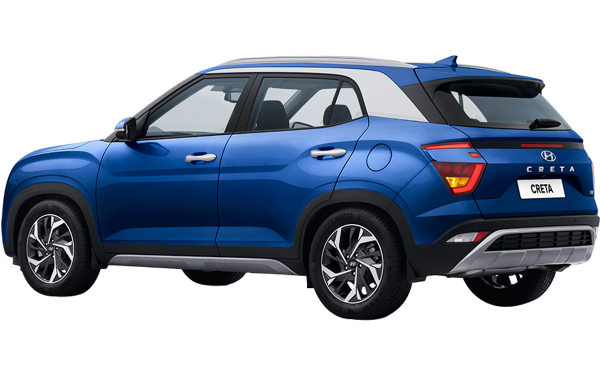 Hyundai Creta Exterior Rear Side View