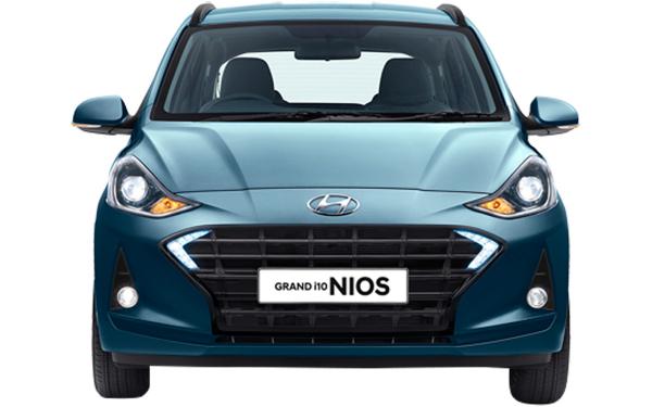 Hyundai Grand i10 Nios Exterior Front View