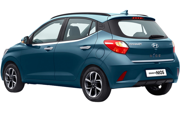 Hyundai Grand i10 Nios Exterior Rear Side View