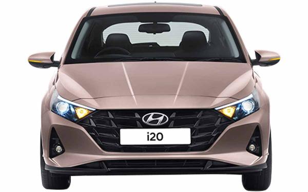 Hyundai i20 Exterior Front View