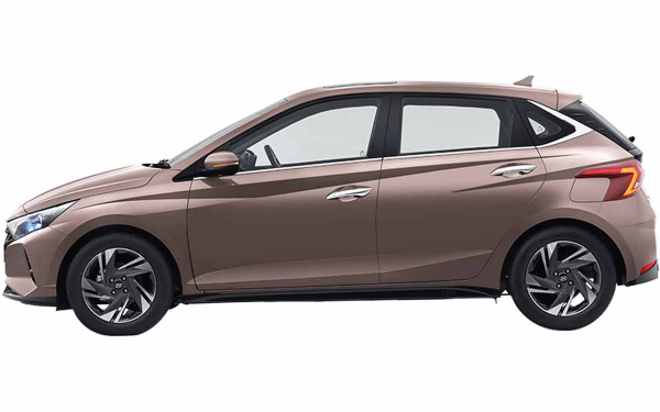 Hyundai i20 Exterior Side View