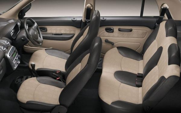 Hyundai  Santro Xing interior seating