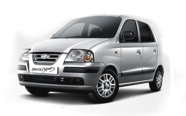 Hyundai  Santro Xing right side view