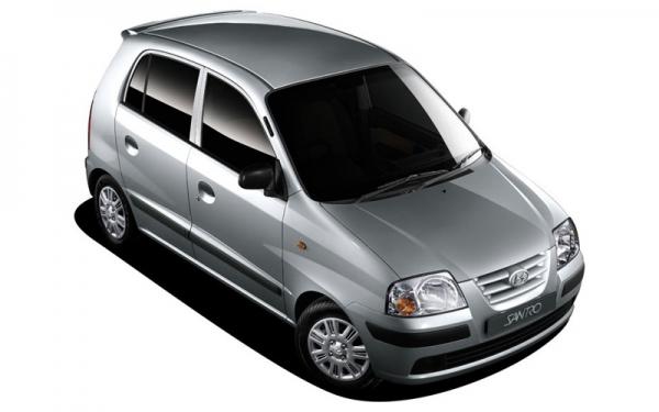 Hyundai Santro Xing top view