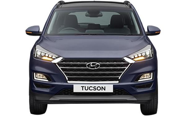 Hyundai Tucson Exterior Front View