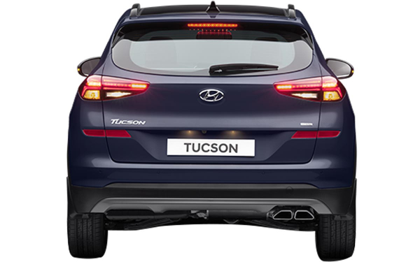 Hyundai Tucson Exterior Rear View