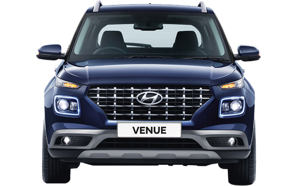 Hyundai Venue Exterior Front View