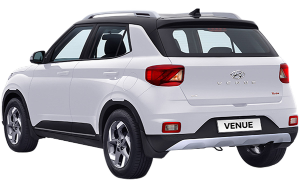Hyundai Venue Exterior Rear Side View