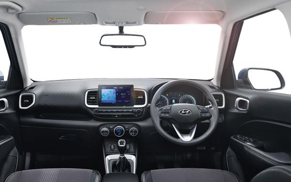 Hyundai Venue Interior Front View